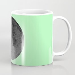 BLACK MOON + LIME GREEN SKY Coffee Mug