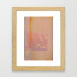 Freckle&Squint4 Framed Art Print