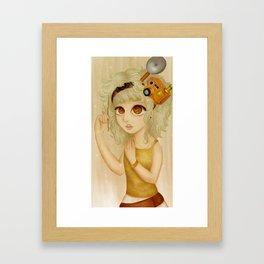 Say 'Cheese'  Framed Art Print
