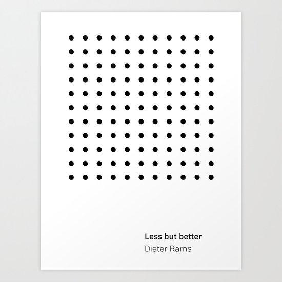 Dieter Rams Less But Better (b) by lukealexandr