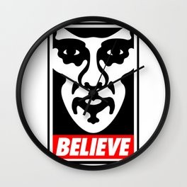 Believe - Sherlock Wall Clock