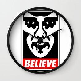 Believe - Sherlock Wall Clock