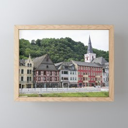 Sankt Goar am Rhein Framed Mini Art Print