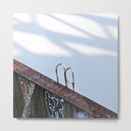 Ladder Metal Print