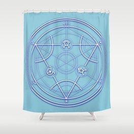 Transmutation Circle Shower Curtain