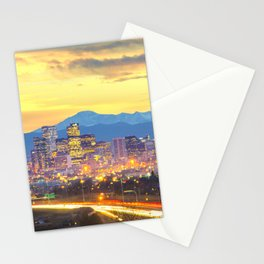 The Mile High City Stationery Cards