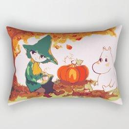 The Autumn Tea Rectangular Pillow