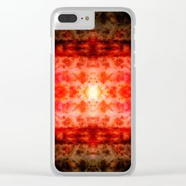 Project 59.47 - Abstract Photomontage Clear iPhone Case