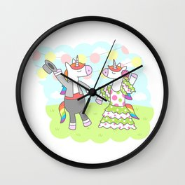 Unicorn Flamenco Wall Clock
