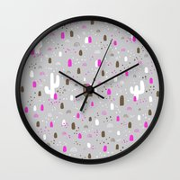returns Wall Clocks featuring Mr Neopolitan returns home by Randyotter