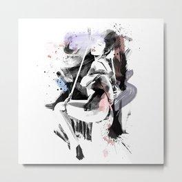 Shibari - Japanese BDSM Art Painting #12 Metal Print