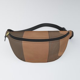 """A series of """"Covers for notebooks"""" . Brown leather. Fanny Pack"""