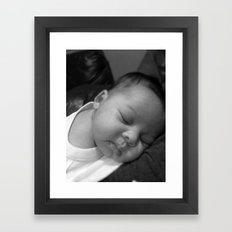 baby Framed Art Print