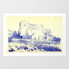 St Andrew Church Steyning England Art Print