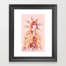 St. Kyary Framed Art Print