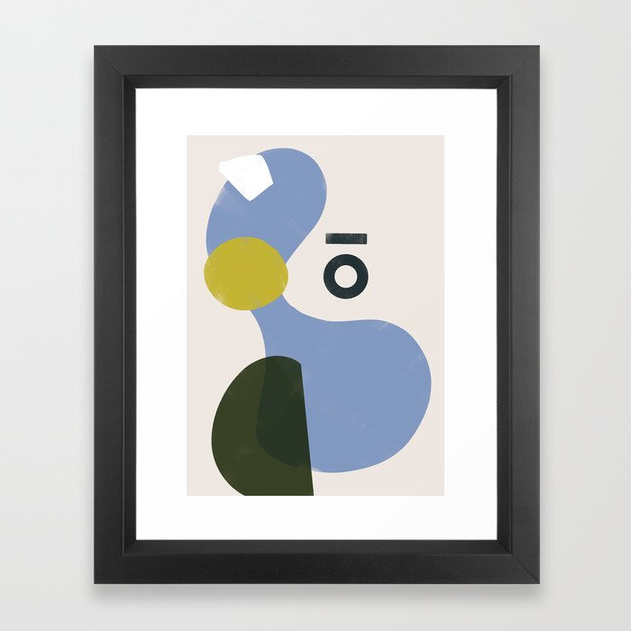 Branded Abstract 3 Framed Art Print