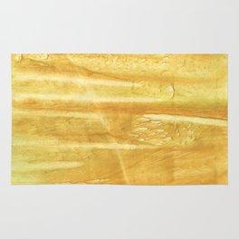 Sandy brown hand-drawn aquarelle Rug