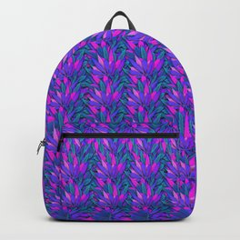 Cannabis Print Backpack