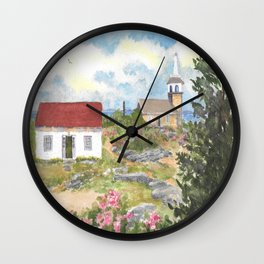 Star Island-Room With A View Wall Clock