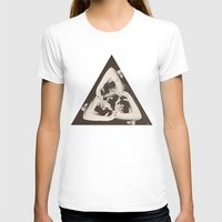 triangle T-shirts featuring TRIANGLE by Ali GULEC
