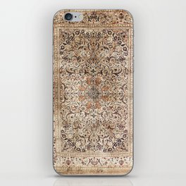 Silk Esfahan Persian Carpet Print iPhone Skin