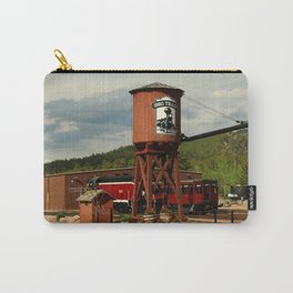 Water Tower Of The Black Hills Central Railroad Carry-All Pouch