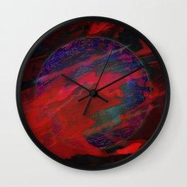 Atmospheric Disturbance - World 22-01-17 Wall Clock