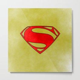 Super Hero, comics Metal Print