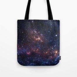 Stars and Nebula Tote Bag