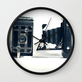 Antique Cameras Wall Clock