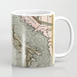 Map Of Italy 1540 Coffee Mug