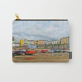 Tenby Harbour . Sunlight. Pembrokeshire. Wales. Carry-All Pouch