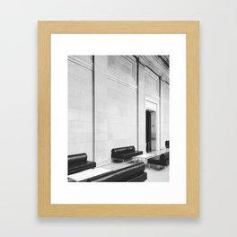 Seated 2017 Framed Art Print