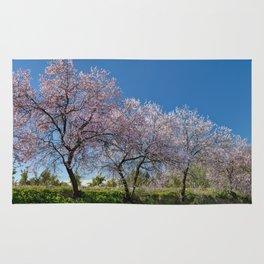 Algarve almond blossom Rug