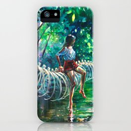 Dopamine Jungle iPhone Case