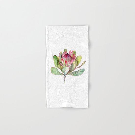 Protea Flower Hand & Bath Towel