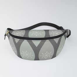 Frosted Winter Ornaments Fanny Pack