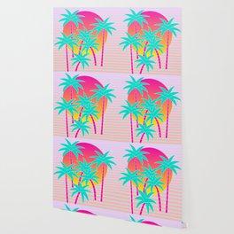 Hello Miami Sunset Wallpaper