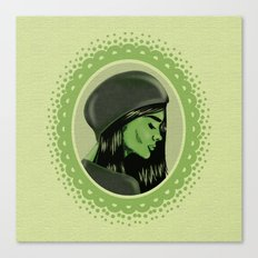 Elphaba Canvas Print
