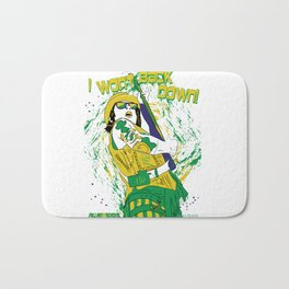Falling in Reverse-Brazil Ron (White) Bath Mat