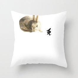 CHINESE ZODIAC (Rabbit)  Throw Pillow