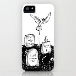 Kyrkogård (Cemetery) iPhone Case
