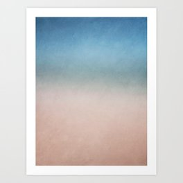 Canvas Collection - Seaside Art Print