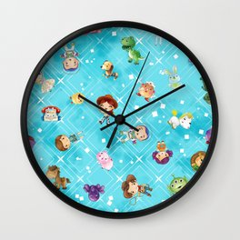 Adventures of Woody and Buzz Wall Clock
