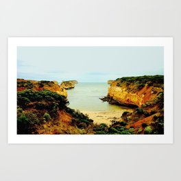 Shipwreck Coast Art Print