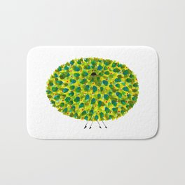 Poofy Pineapple Bath Mat