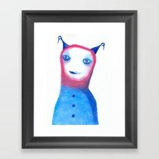 ET? Framed Art Print