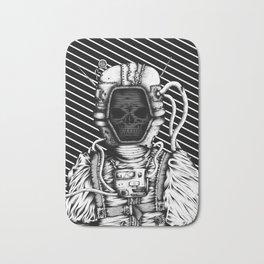 Skelenaut V3 (Black & White) Bath Mat