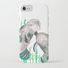 Manatees iPhone Case