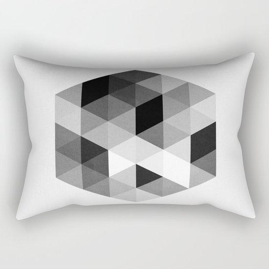 Geo Hex 02. Rectangular Pillow